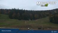 Archived image Webcam Entrance Ski Resort Hochficht 23:00