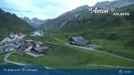 Archived image Webcam St. Christoph (Arlberg mountain) 21:00