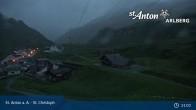 Archived image Webcam St. Christoph (Arlberg mountain) 23:00
