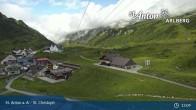 Archived image Webcam St. Christoph (Arlberg mountain) 07:00