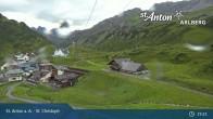 Archived image Webcam St. Christoph (Arlberg mountain) 13:00