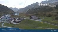 Archived image Webcam St. Christoph (Arlberg mountain) 19:00