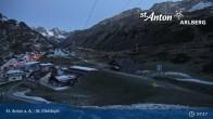 Archived image Webcam St. Christoph (Arlberg mountain) 01:00