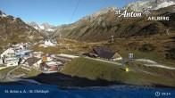 Archiv Foto Webcam St. Christoph am Arlberg 03:00