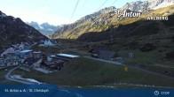 Archiv Foto Webcam St. Christoph am Arlberg 11:00