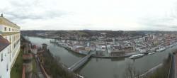 Archiv Foto Webcam Panoramablick auf die Passauer Altstadt 08:00