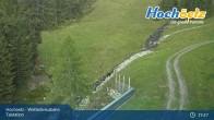 Archiv Foto Webcam Blick vom Wetterkreuzlift ins Skigebiet 19:00