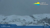 Archived image Webcam mountain station - Chantrella lift 19:00