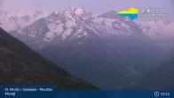 Archived image Webcam Engadin Muottas Muragl 23:00