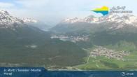 Archived image Webcam Engadin Muottas Muragl 03:00