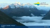 Archived image Webcam Engadin Muottas Muragl 01:00