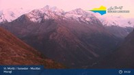Archived image Webcam Engadin Muottas Muragl 19:00