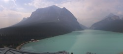 Archived image Webcam The Fairmont Chateau Lake Louise 10:00
