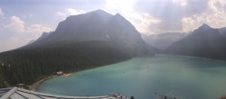Archived image Webcam The Fairmont Chateau Lake Louise 14:00
