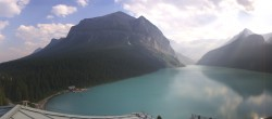 Archived image Webcam The Fairmont Chateau Lake Louise 16:00