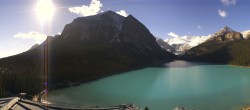 Archived image Webcam The Fairmont Chateau Lake Louise 05:00