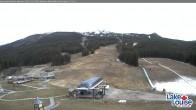 Archived image Webcam Lake Louise: Base Area 03:00