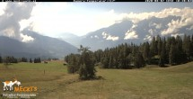 Archived image Webcam View of the Mecki's Alm mountain hut 04:00