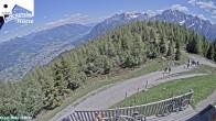 """Archived image Webcam """"Hochstein"""" mountain hut 08:00"""