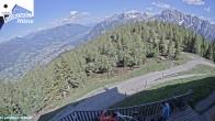 """Archived image Webcam """"Hochstein"""" mountain hut 10:00"""