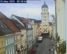 Archived image Webcam Historic center of Vilshofen 00:00