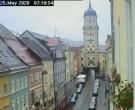 Archived image Webcam Historic center of Vilshofen 02:00