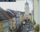 Archived image Webcam Historic center of Vilshofen 06:00