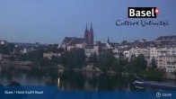Archiv Foto Webcam Basel, Hotel Krafft 23:00