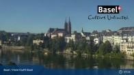 Archiv Foto Webcam Basel, Hotel Krafft 01:00