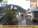 Archiv Foto Webcam Blick auf den Marktplatz von Großarl 08:00