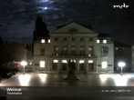 Archived image Webcam Weimar Theatre Square and German National Theatre 22:00