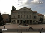 Archived image Webcam Weimar Theatre Square and German National Theatre 06:00