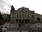 Archived image Webcam Weimar Theatre Square and German National Theatre 08:00