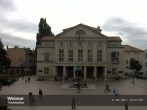 Archived image Webcam Weimar Theatre Square and German National Theatre 10:00