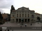Archived image Webcam Weimar Theatre Square and German National Theatre 12:00