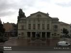 Archiv Foto Webcam Weimar Theaterplatz und Deutsches Nationaltheater 02:00