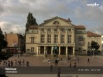 Archiv Foto Webcam Weimar Theaterplatz und Deutsches Nationaltheater 04:00