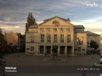 Archived image Webcam Weimar Theatre Square and German National Theatre 02:00