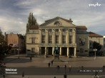 Archived image Webcam Weimar Theatre Square and German National Theatre 04:00