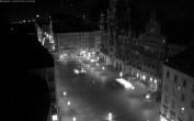 Archived image Webcam Marienplatz Munich, Bavaria 22:00
