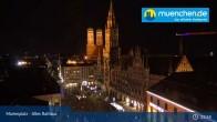 Archiv Foto Webcam Marienplatz München - Altes Rathaus 19:00