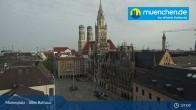 Archiv Foto Webcam Marienplatz München - Altes Rathaus 01:00