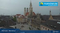 Archiv Foto Webcam Marienplatz München - Altes Rathaus 03:00
