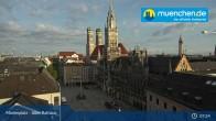 Archived image Webcam Marienplatz Munich, Bavaria 01:00