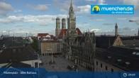 Archived image Webcam Marienplatz Munich, Bavaria 03:00