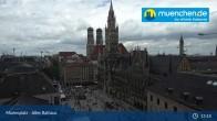 Archived image Webcam Marienplatz Munich, Bavaria 07:00