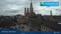 Archived image Webcam Marienplatz Munich, Bavaria 09:00
