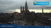 Archived image Webcam Marienplatz Munich, Bavaria 13:00