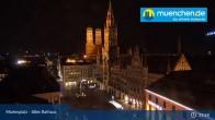 Archived image Webcam Marienplatz Munich, Bavaria 21:00