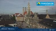 Archived image Webcam Marienplatz Munich, Bavaria 05:00